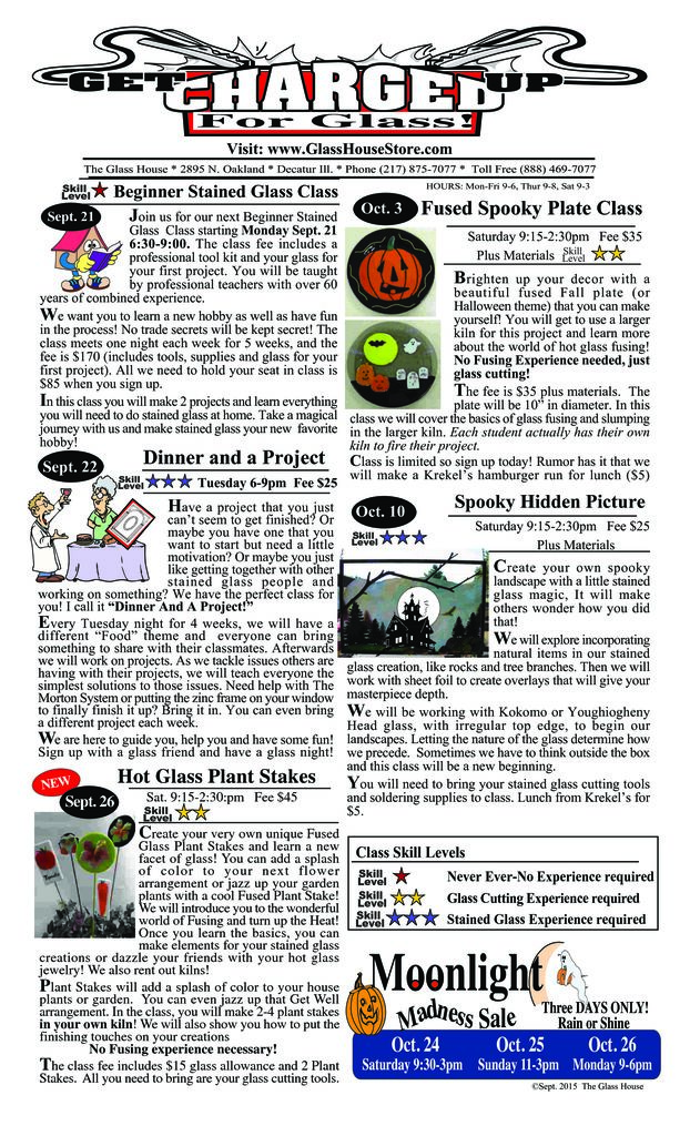 thumbnail of Stained Glass Sale Flier September 2015