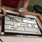 Beginner Stained Glass Project - Learning to Solder