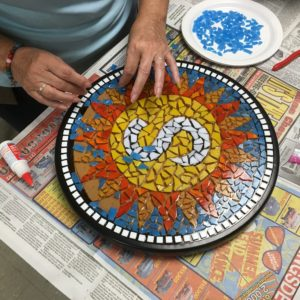 Mosaic Stepping Stone Class Student Project