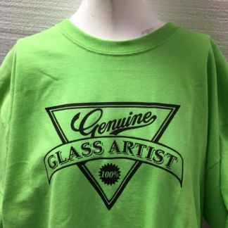 Genuine Glass Artists Tee Shirt - Green