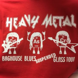 Heavy Metal Baghouse Blues Suspended Glass Tour T Shirt