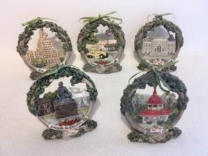 Decatur collectible Christmas ornaments