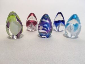 Beautiful Decorative Glass Eggs