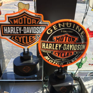 Harley Davidson Neon Lights