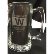 Chicago Cubs 2016 World Series Champions Etched Mug