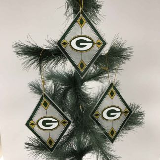 Green Bay Packers Christmas Ornaments